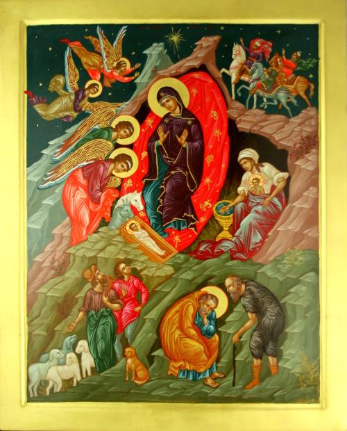 Jēzus Kristus piedzimšanas ikona